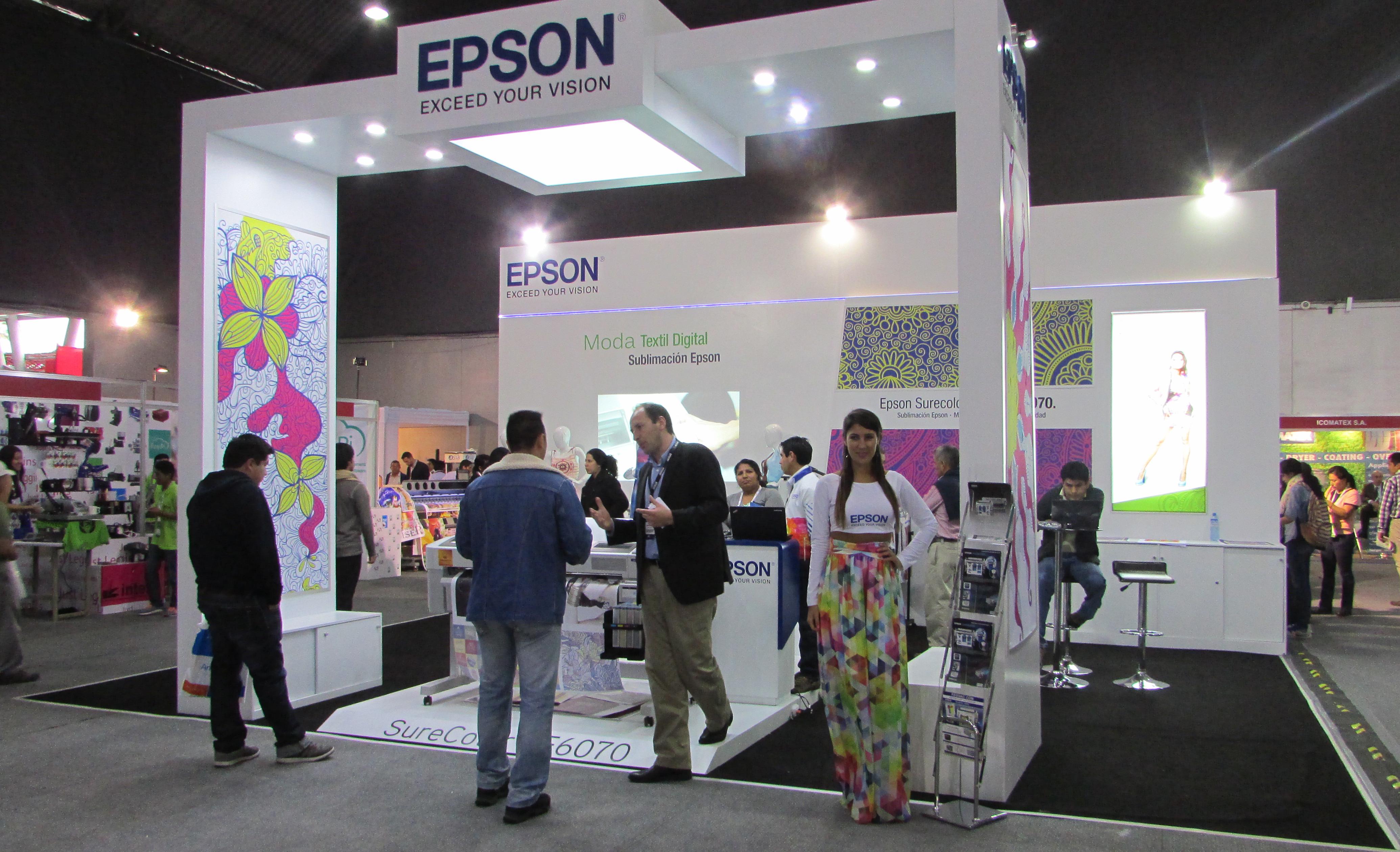 EPSON revoluciona mundo de la moda con impresión textil