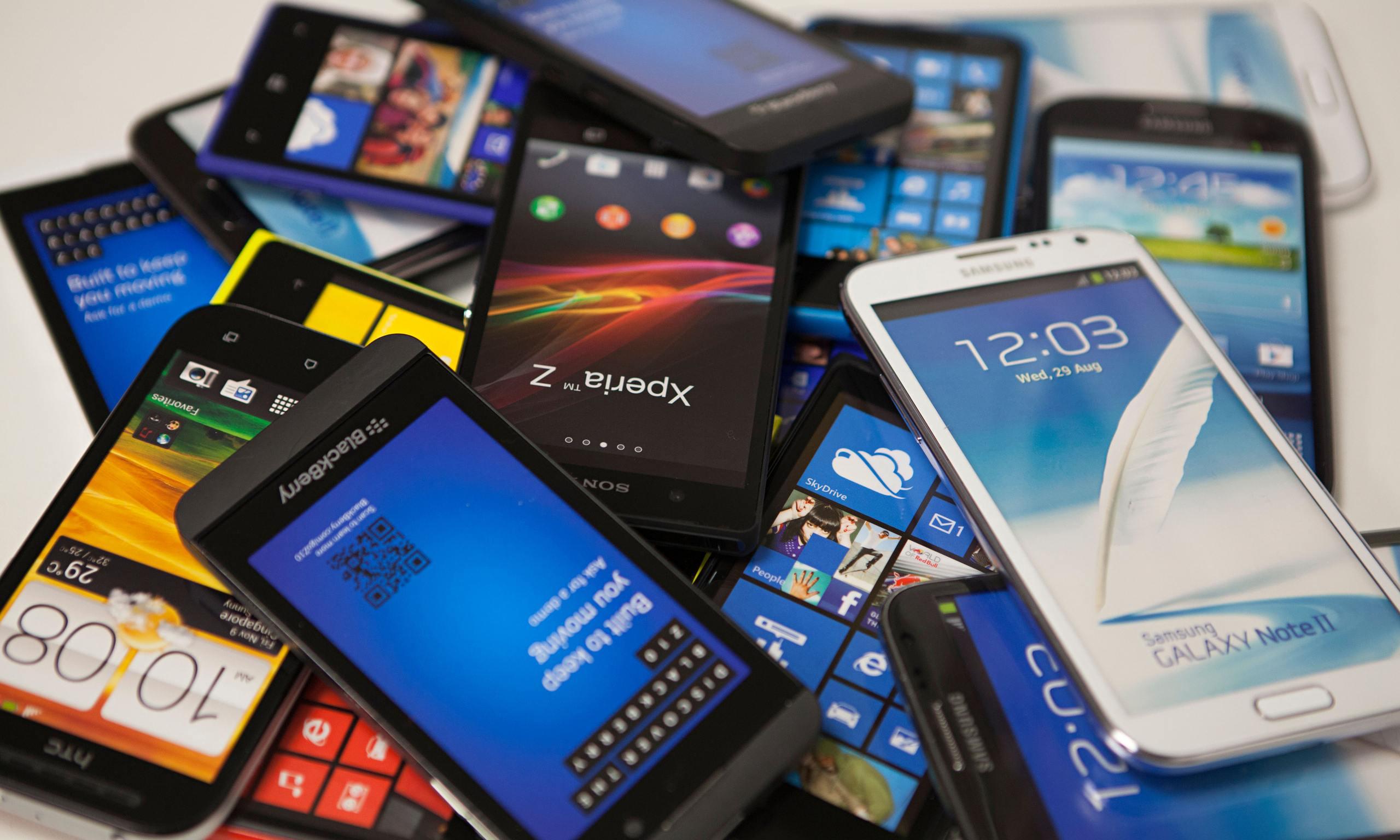 ¿Qué fabricante presento más modelos de smartphones el 2016?