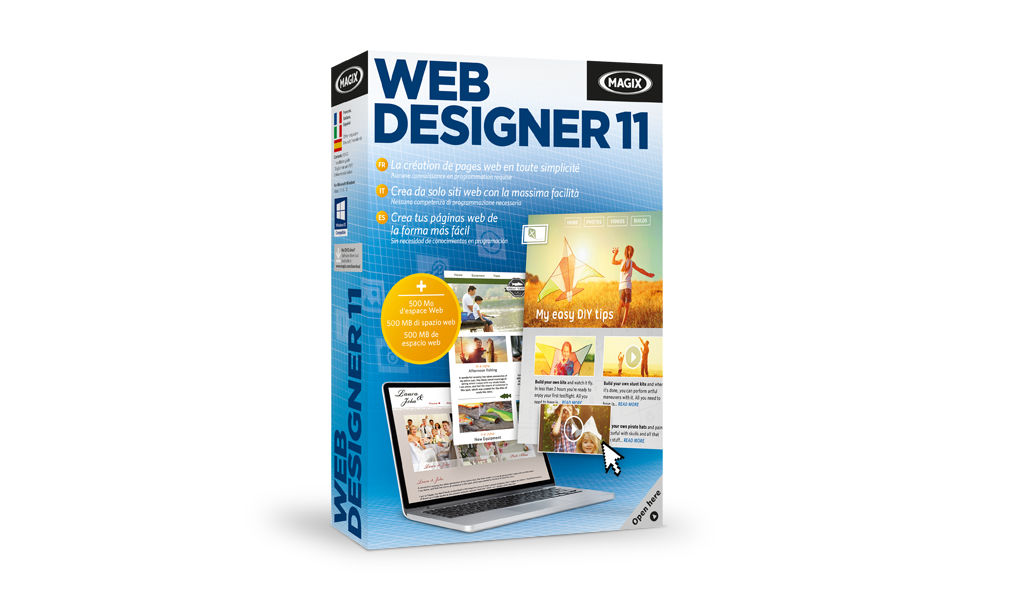 Reseña: Web Designer 11 Premium de MAGIX