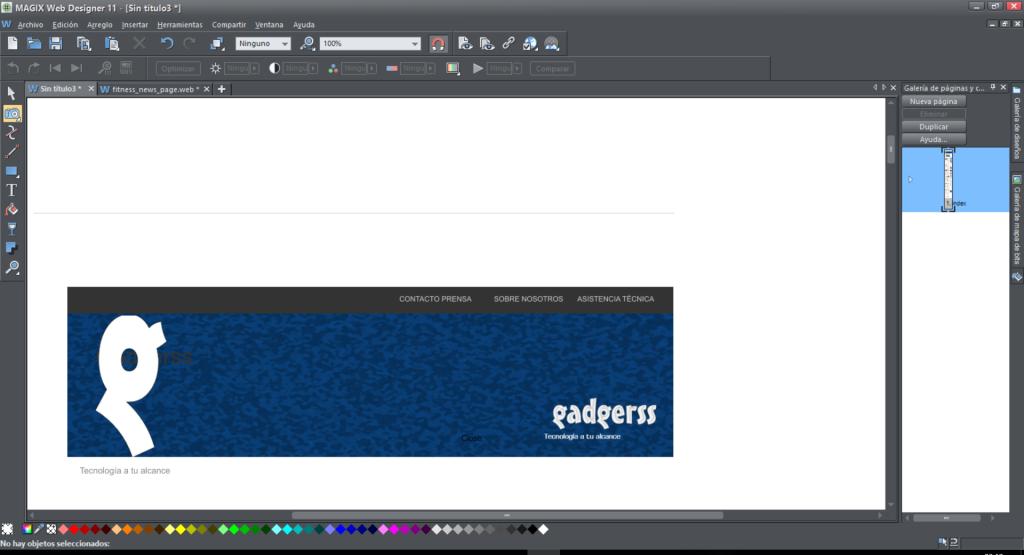 web designer gadgerss