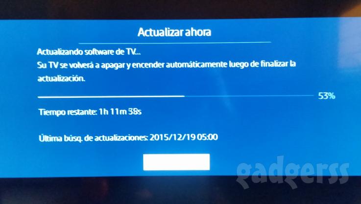 Actualizando SmartTV