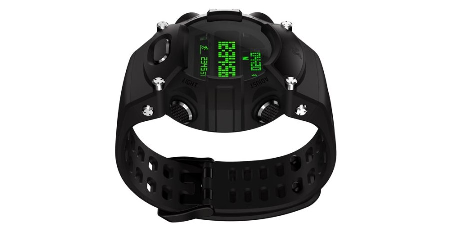 No es un teléfono inteligente sino un reloj que es inteligente: Razer anuncia un reloj digital con funciones inteligentes