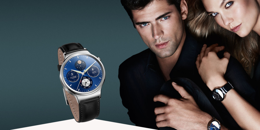 El Huawei Watch ya está disponible en el Perú