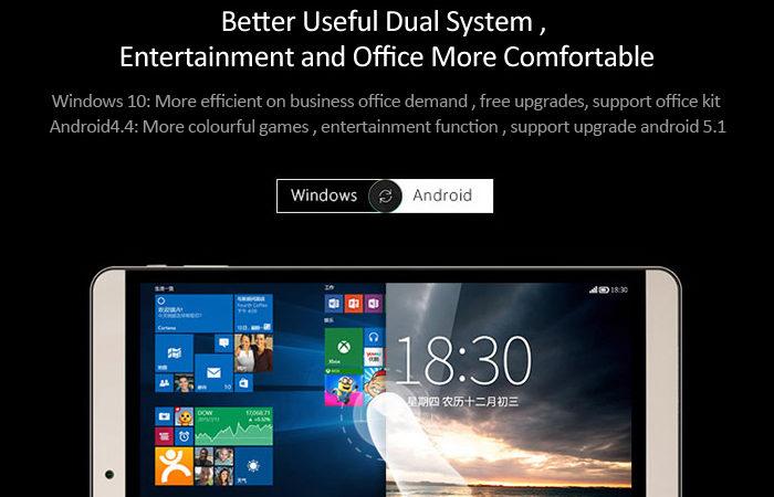 Onda V919, una tablet con pantalla retina, acabado metálico y dual boot con Windows 10 y Android