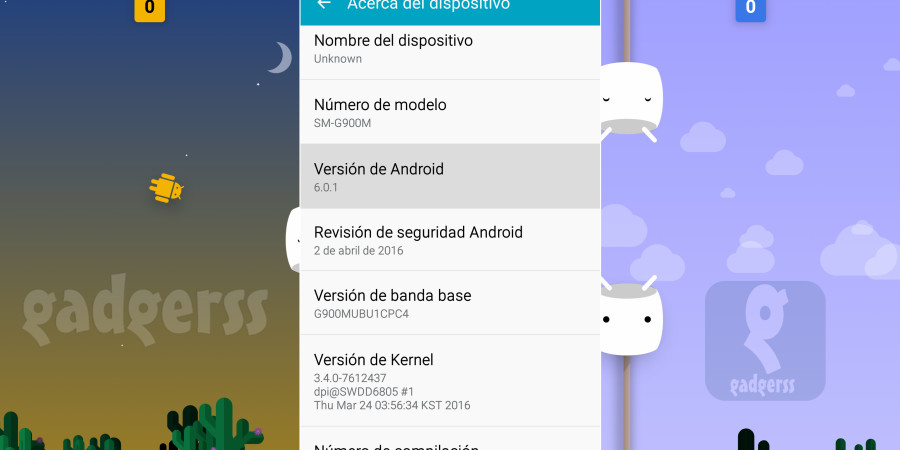 Actualizar Galaxy S5 a Android 6.0 (Marshmallow Oficial)