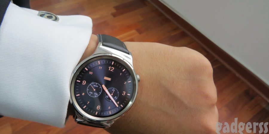 El Huawei Watch original empieza a recibir Android Wear 2.0
