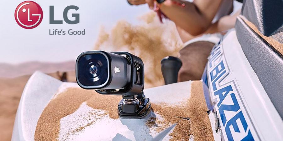 LG crea la primera cámara de acción que transmite directo a YouTube Live