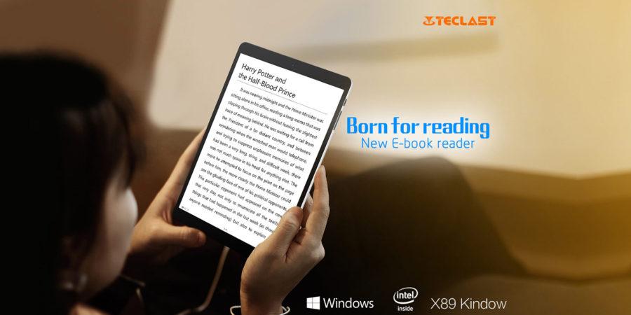La Teclast X89 es una tablet más que interesante para muchas tareas