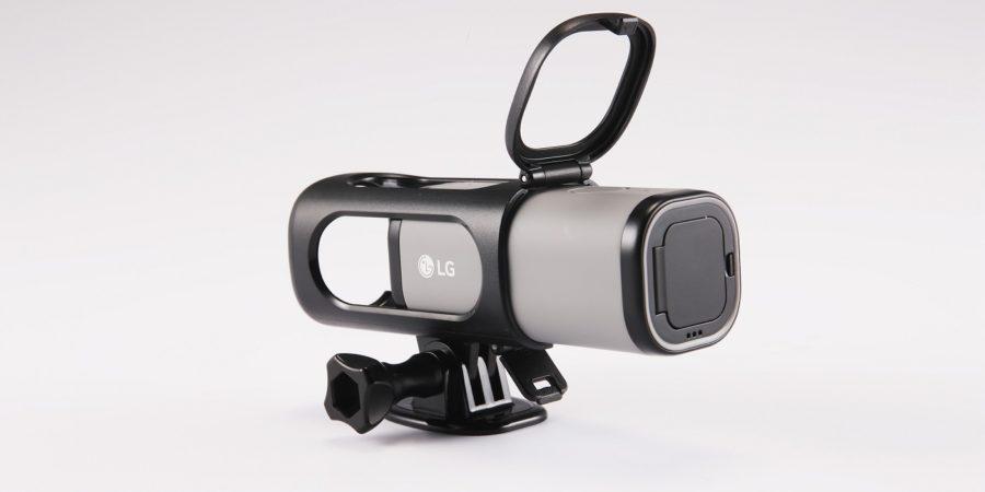 LG presenta la primera cámara de acción que transmite video en directo