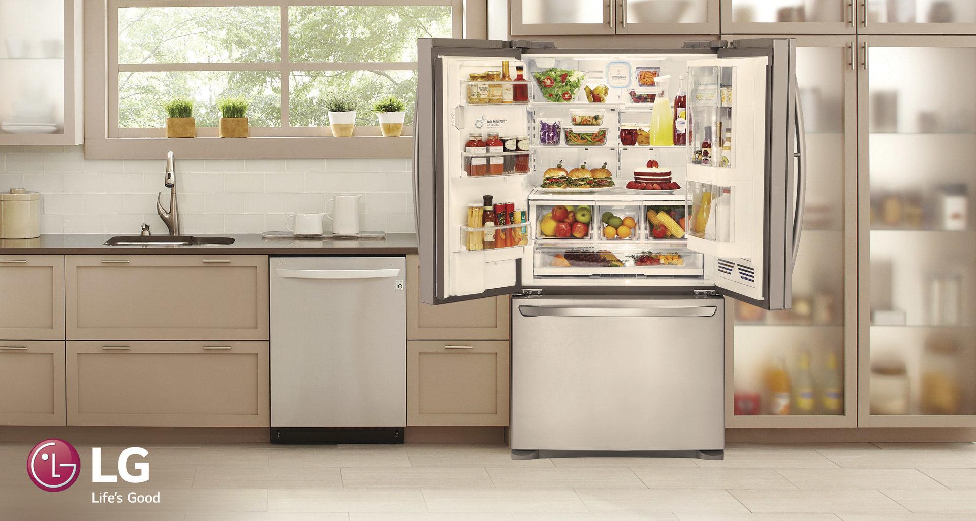 Refrigeradoras modernas revolucionan sus dise os para for Precio de puertas francesas