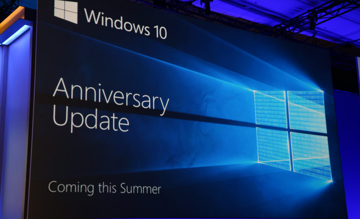 ¿Cómo obtener Windows 10 Anniversary Update?