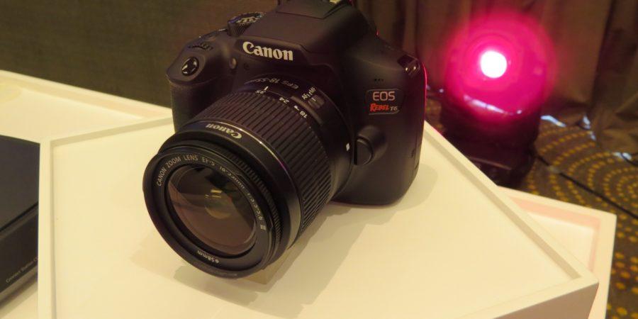 Comparta momentos al instante con la nueva cámara DSLR  EOS Rebel T6 de Canon