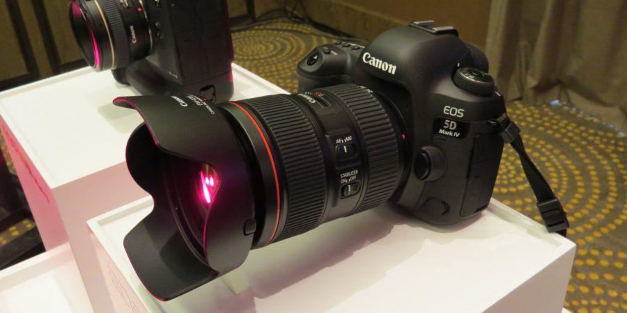 ¡Finalmente!: canon anuncia el muy  esperado lanzamiento de la cámara DSLR EOS 5D Mark IV y de los nuevos lentes de la serie l