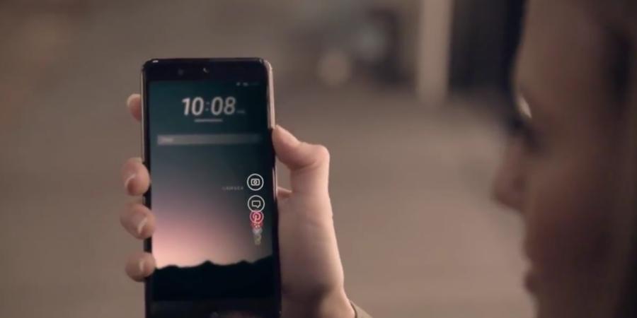 Video del HTC Ocean nos muestra un innovador sistema de control lateral