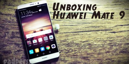 Unboxing del Huawei Mate 9