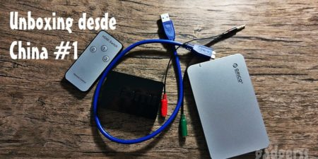 Unboxing desde China # 1: Cables de audio, USB, HDMI Switch y Eclosure