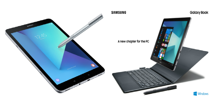 MWC 2017: Samsung presenta la Galaxy Tab S3 y Galaxy Book, ofreciendo entretenimiento y productividad móvil mejorado