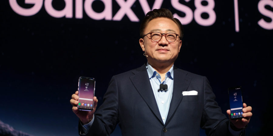 Samsung presentó oficialmente los Galaxy S8 y S8+