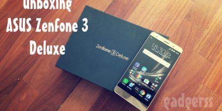 Unboxing: ASUS Zenfone 3 Deluxe