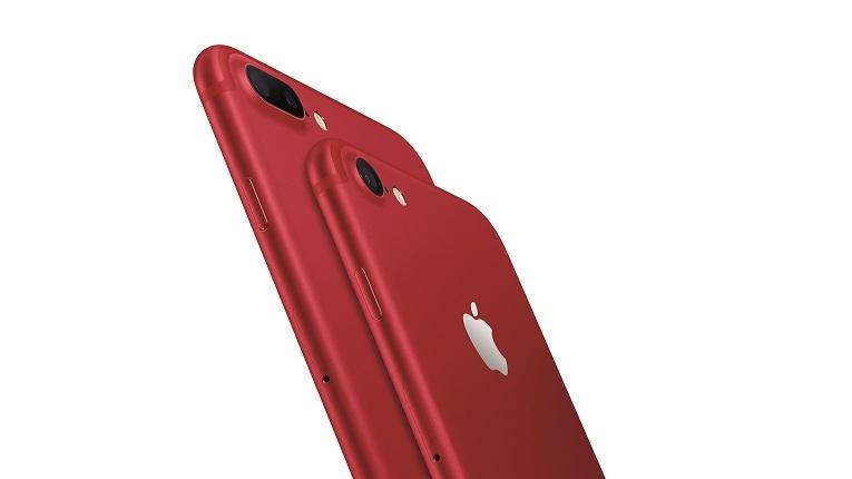 Apple presenta el iPhone 7 y el iPhone 7 Plus de color rojo, (PRODUCT)RED Special Edition