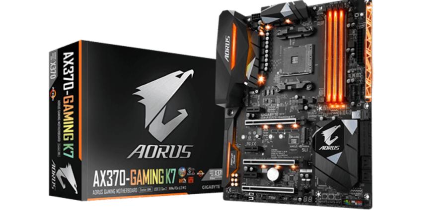 GIGABYTE muestra las características de su placa AORUS GA-AX370-Gaming K7