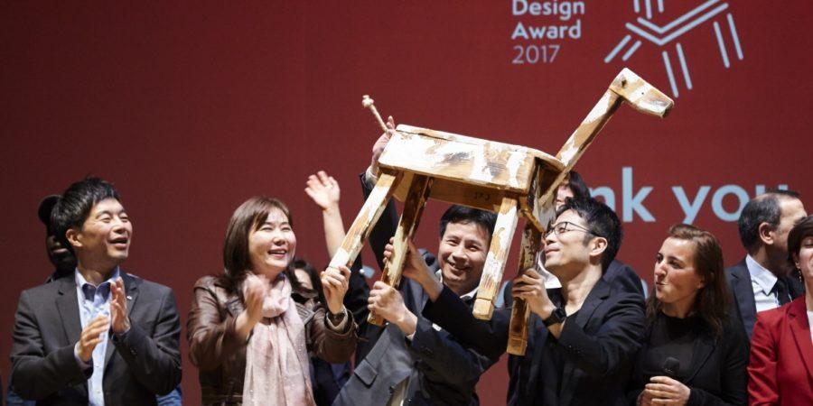 LG y Tokujin Yoshioka fueron reconocidos en la semana del diseño en Milán 2017