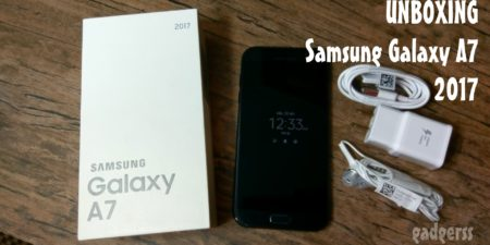 Unboxing del Samsung Galaxy A7 2017