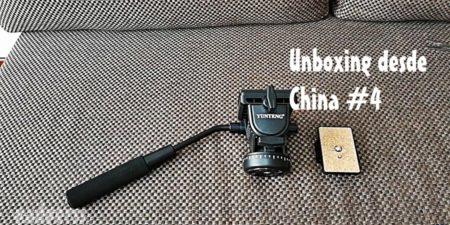 Unboxing desde China # 4: Cabeza de trípode Yunteng 950