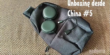 Unboxing desde China # 5: Mochila Xiaomi, fundas, y cable USB OTG Tipo C