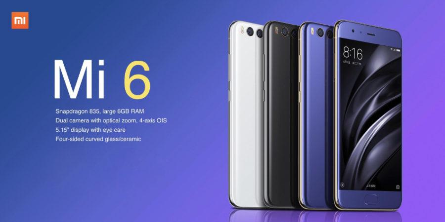 Excelente descuento para comprar el Xiaomi Mi6 (6+64GB) en Banggood