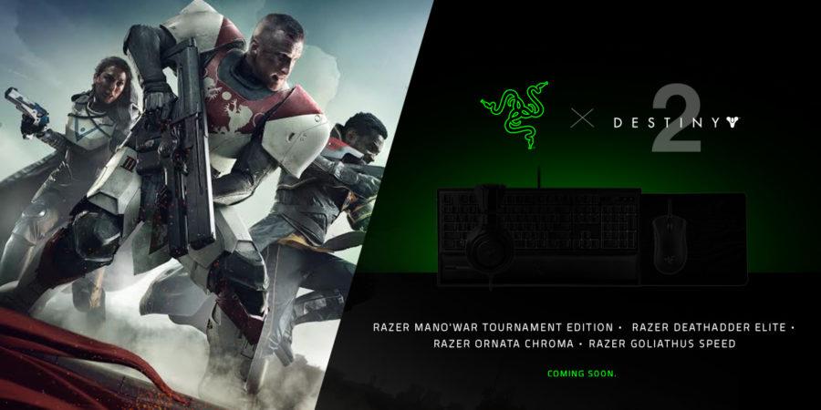 Razer y Bungie anuncian colaboración, y lanzan periféricos para Destiny 2
