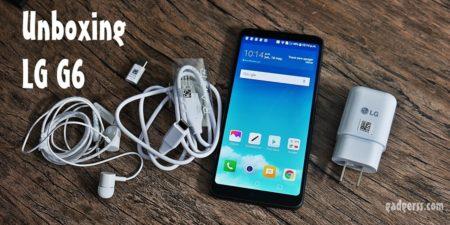 Unboxing en español del LG G6