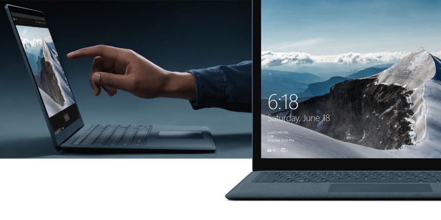 Microsoft presentó la Surface Laptop, su primer dispositivo con Windows 10 S