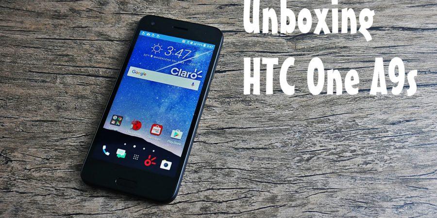 Unboxing y primeras impresiones del HTC One A9s