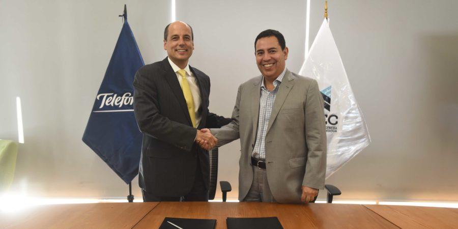 UTEC y Telefónica firman alianza estratégica para impulsar las ciencias de la computación en el país