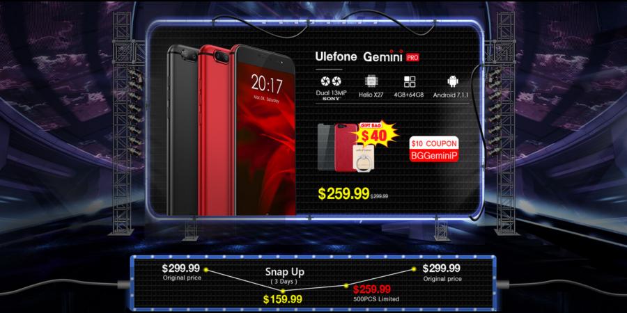 Compra los mejores smartphones de Ulefone con estas ofertas de Banggood