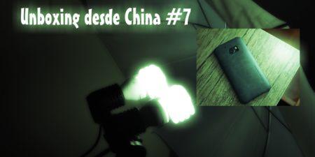 Unboxing desde China # 7: Luces de estudio y case para HTC 10