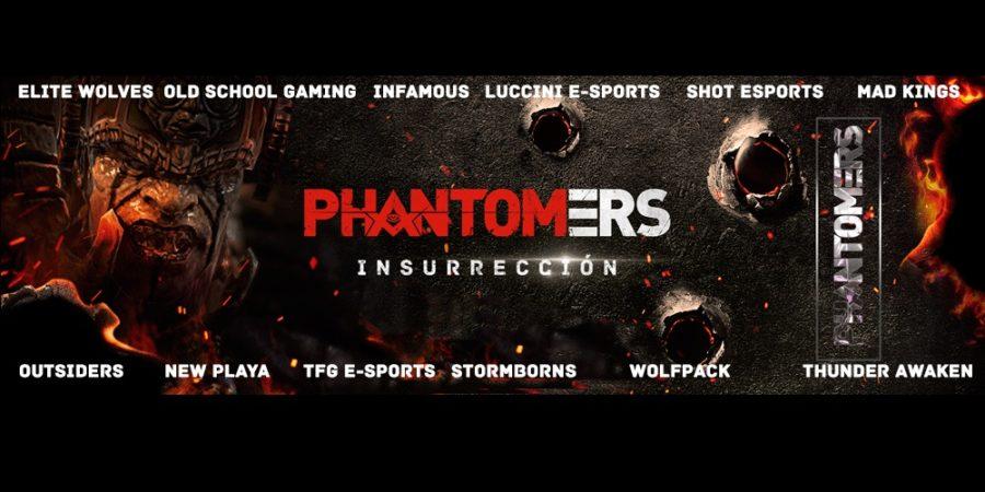 Doce equipos internacionales competirán en el Torneo Phantomers
