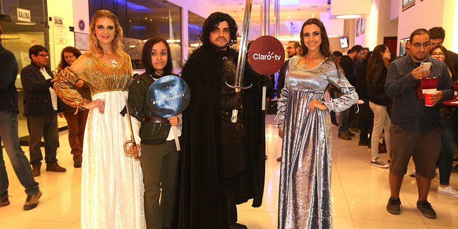 Clientes de CLARO vivieron a lo grande el estreno de la séptima temporada de Game of Thrones
