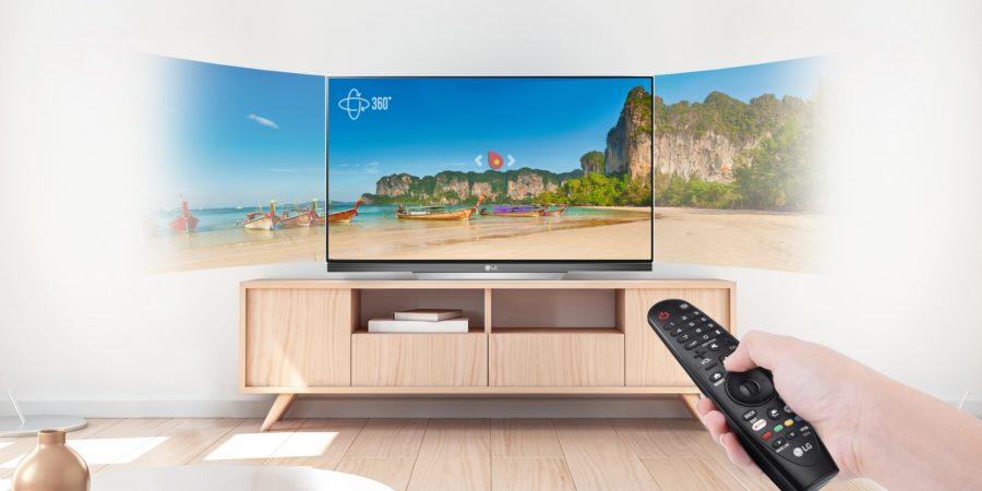 LG cuenta con control remoto con acceso directo a Netflix y Amazon