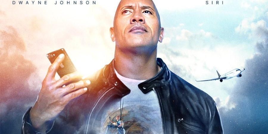 La próxima película de The Rock tendrá como coprotagonista a Siri, el asistente de voz de Apple