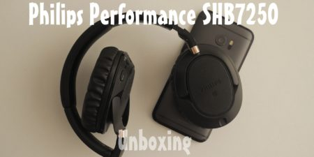 Unboxing en español: Headphones Philips SHB7250