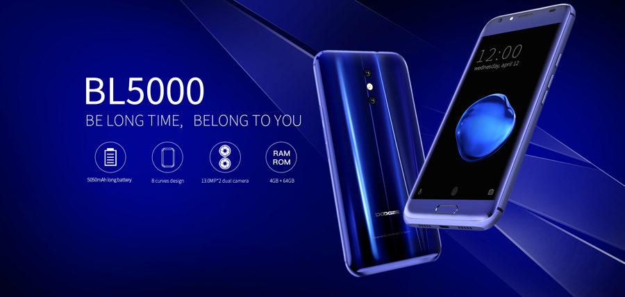 DOOGEE BL500, un smartphone con doble cámara principal y batería de 5050 que podrás comprar por menos de 140 dólares