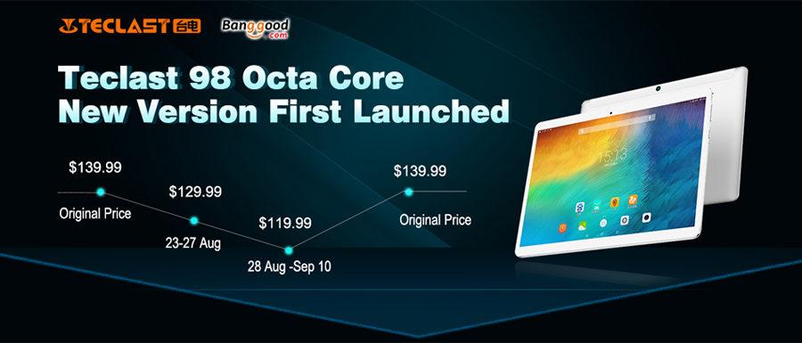 La Teclast 98 se renueva y ya está a la venta en exclusiva en Banggood