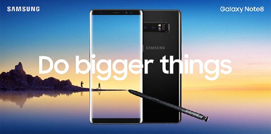 Samsung anuncia oficialmente el Galaxy Note8