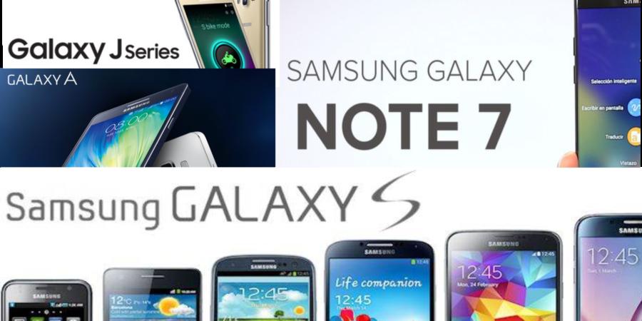 ¿Sábes que significan las letras presentes en los teléfonos Samsung?  S, Y, Note y J …