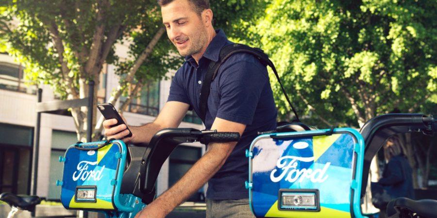 Ford GoBike, la bicicleta compartida creada por Ford en colaboración con Motivate, comienza a rodar en las calles de la ciudad del futuro