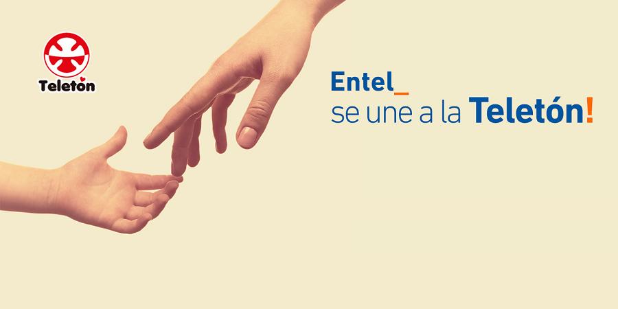 Por tercer año consecutivo Entel será el operador oficial de la Teletón