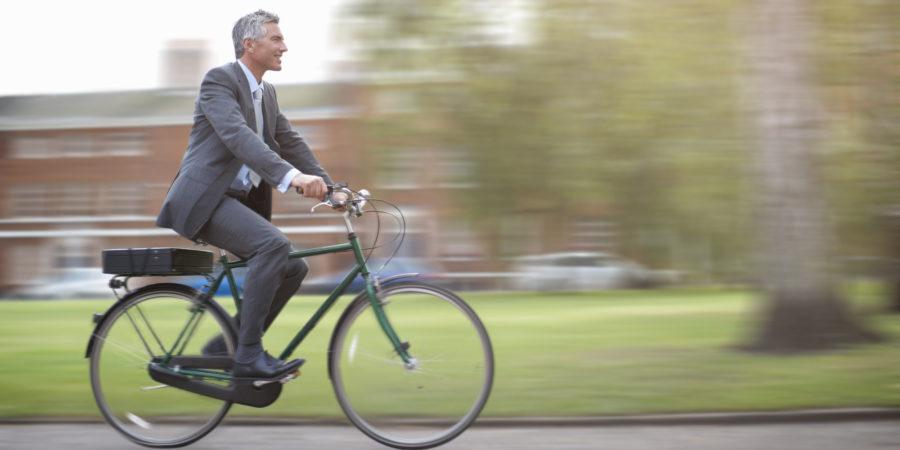 Entel: Siete tips para ir a la oficina en bicicleta