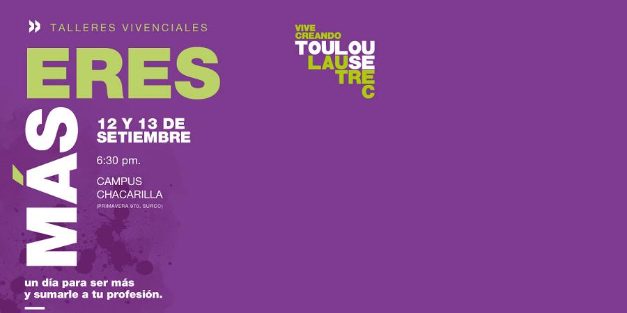 Toulouse Lautrec ofrecerá talleres vivenciales de sus programas creativos